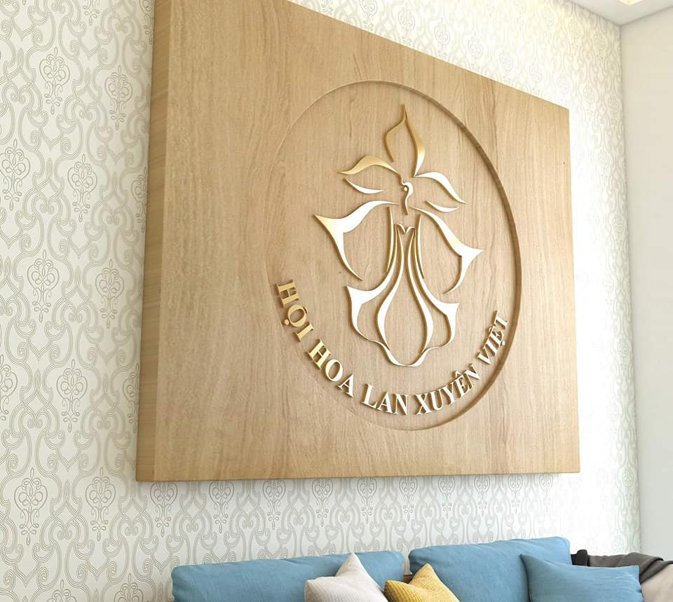 logo hoa phong lan